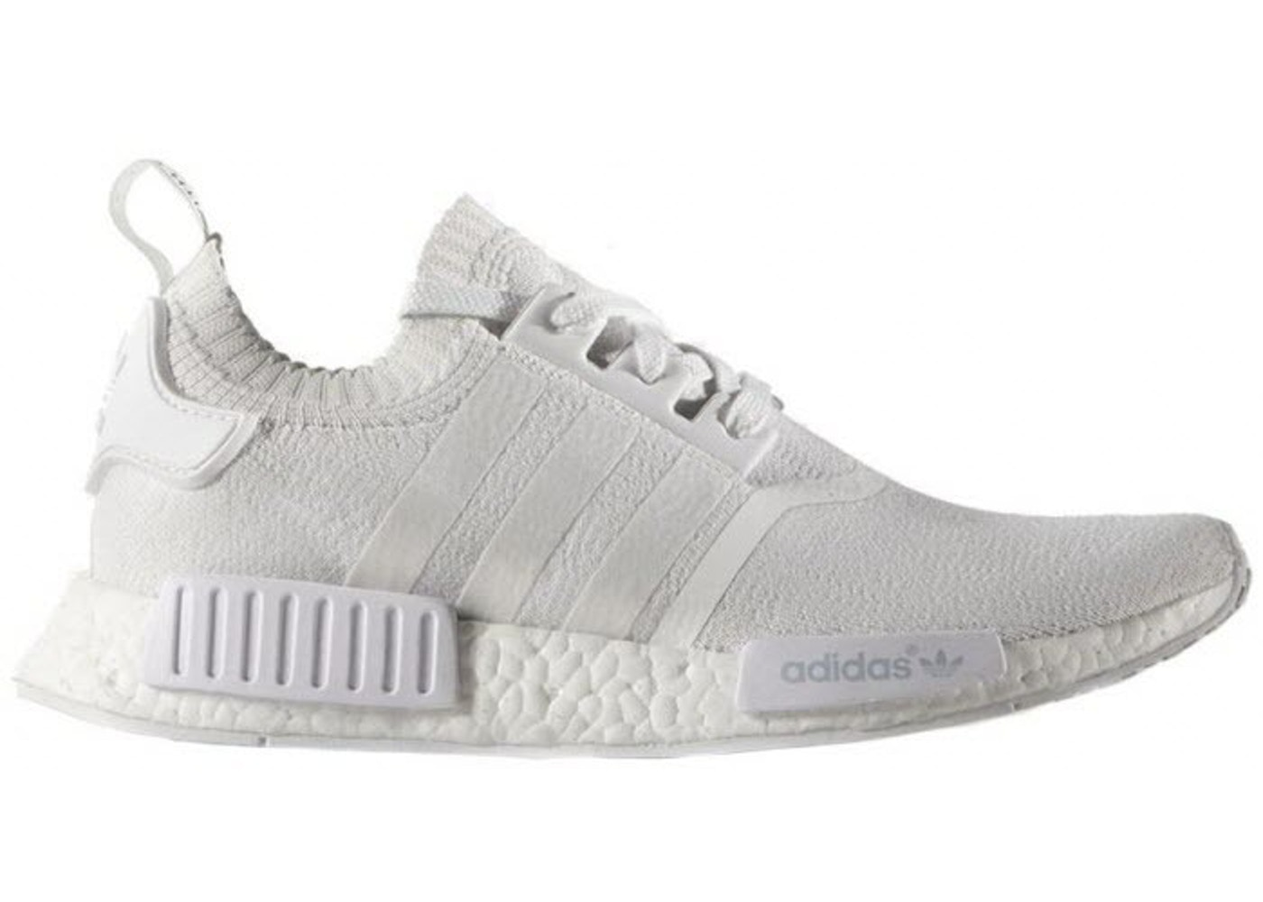 best cheap ccf42 d27a6 adidas NMD R1 Primeknit Triple White - BA8630