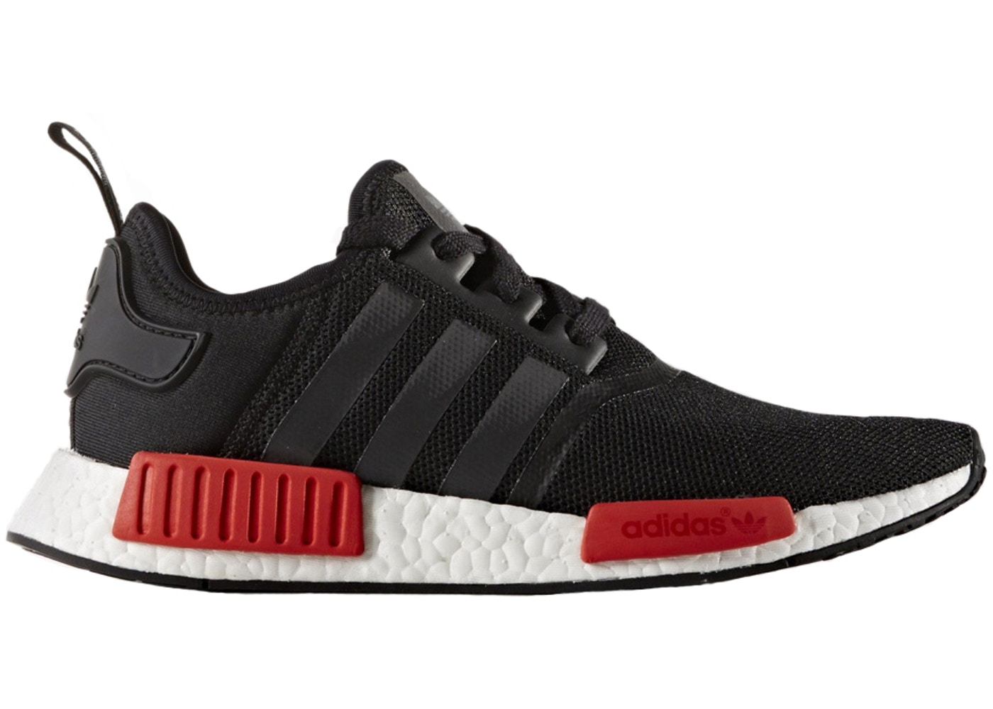 c464d00be adidas NMD R1 Black Red - BB1969