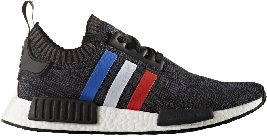 adidas NMD R1 Tri Color Stripes Black
