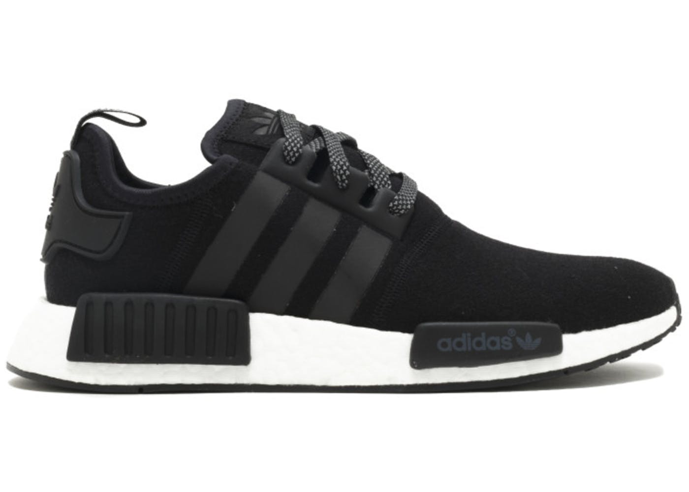 adidas nmd r1 black wool. Black Bedroom Furniture Sets. Home Design Ideas