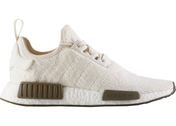 726512a48aa71 adidas NMD R1 Chalk White Trace Olive - CQ0758