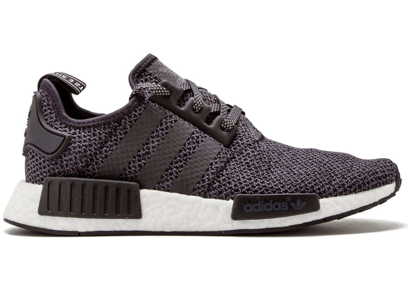 adidas NMD R1 Primeknit Glitch Camo Grey BY1911