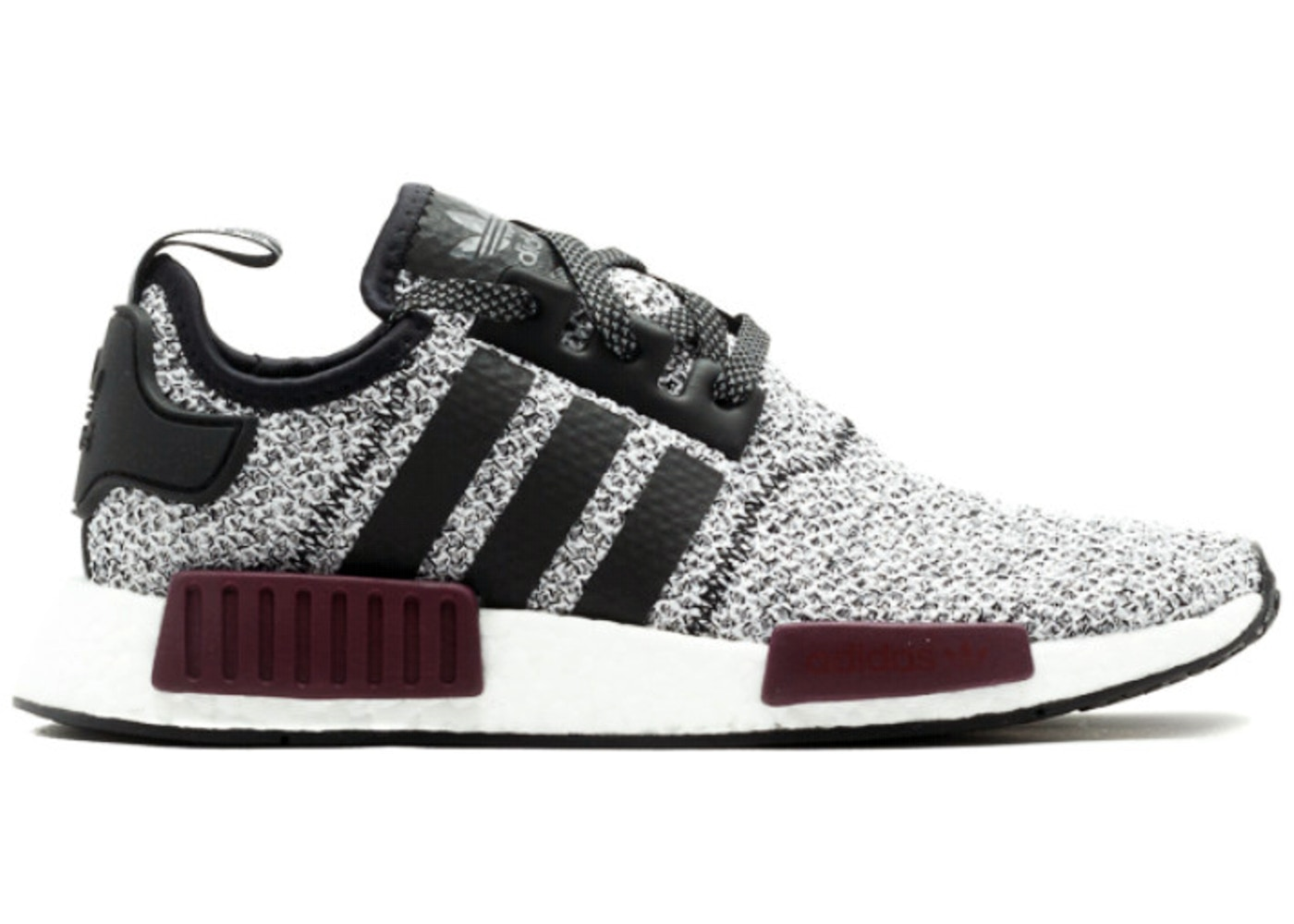 super popular new images of exclusive shoes adidas NMD R1 Champs Burgundy Grey (GS)