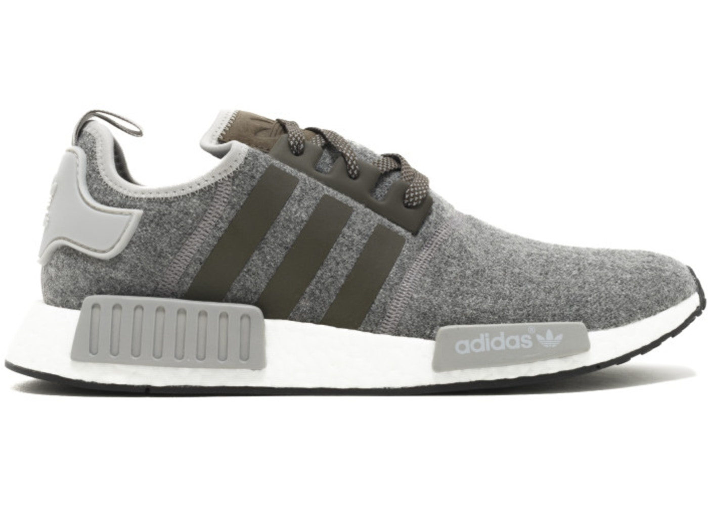 timeless design 8c424 0e1f0 adidas NMD R1 Charcoal Wool