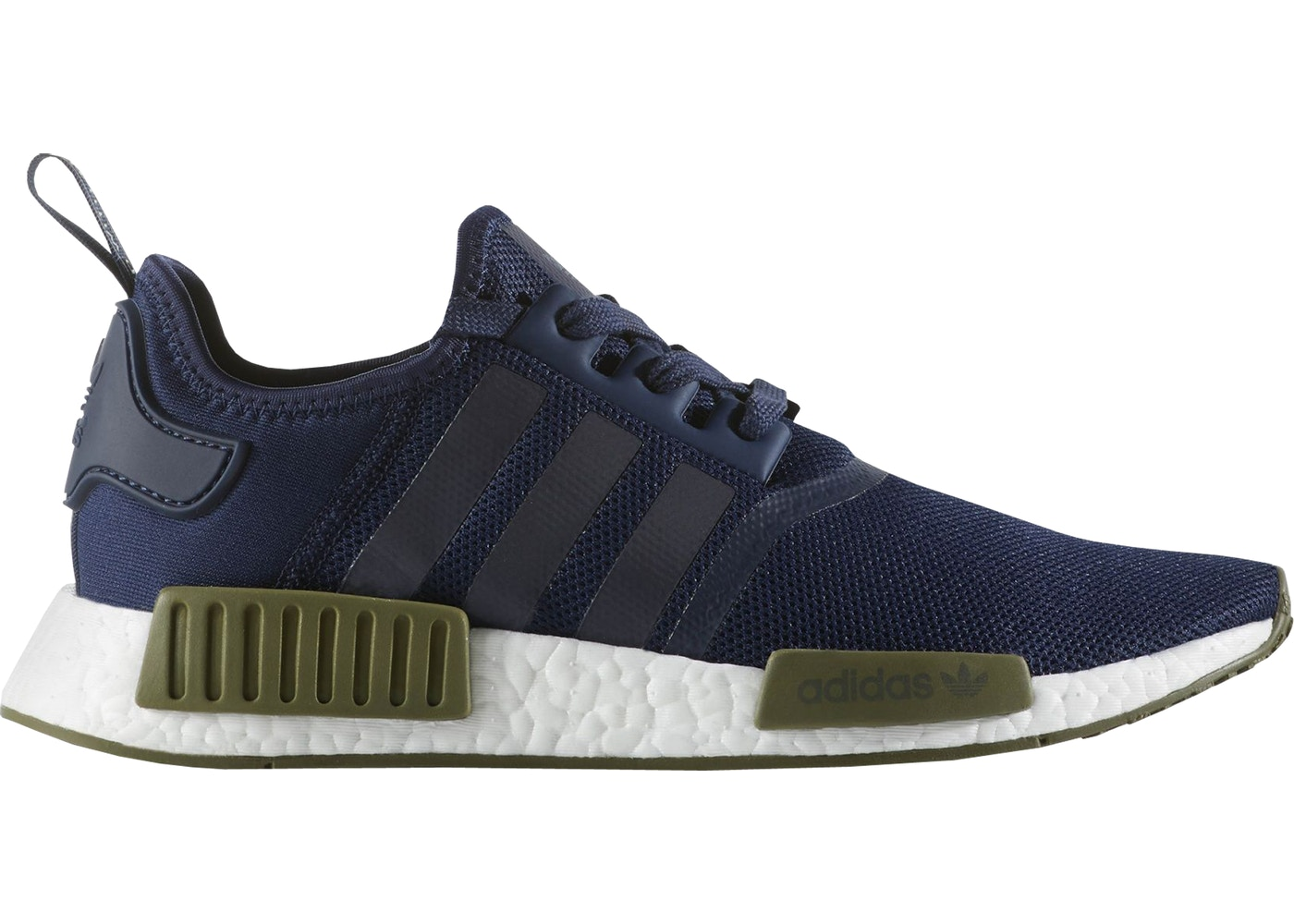 online store 7fb7a a806b adidas NMD R1 Collegiate Navy Olive Cargo - AC7065