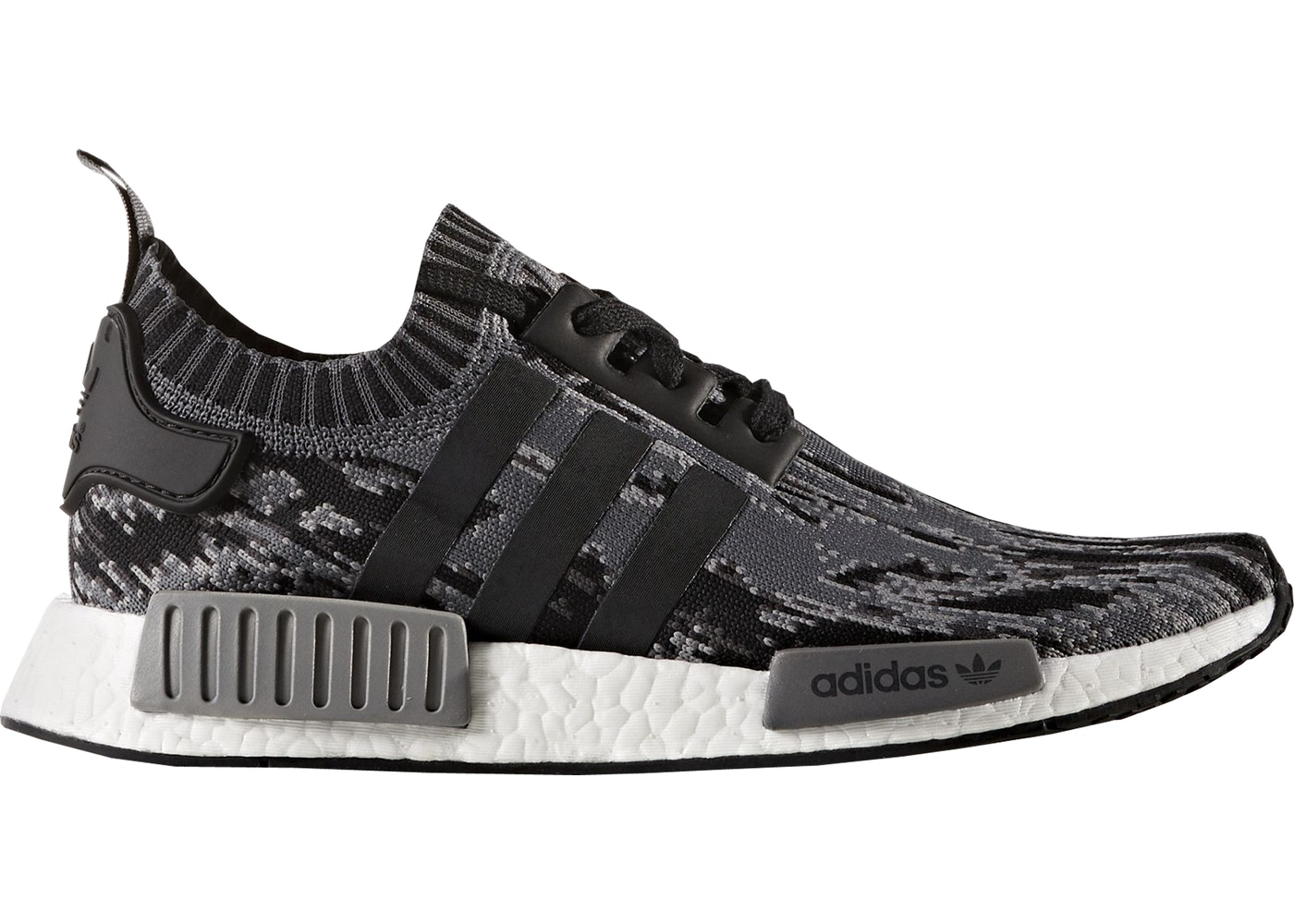 51a2d3d6ee089 adidas NMD R1 Core Black Grey Three - BZ0223