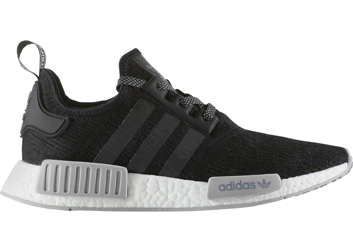 adidas Originals NMD R1 Primeknit Trainer Black / White / Gum