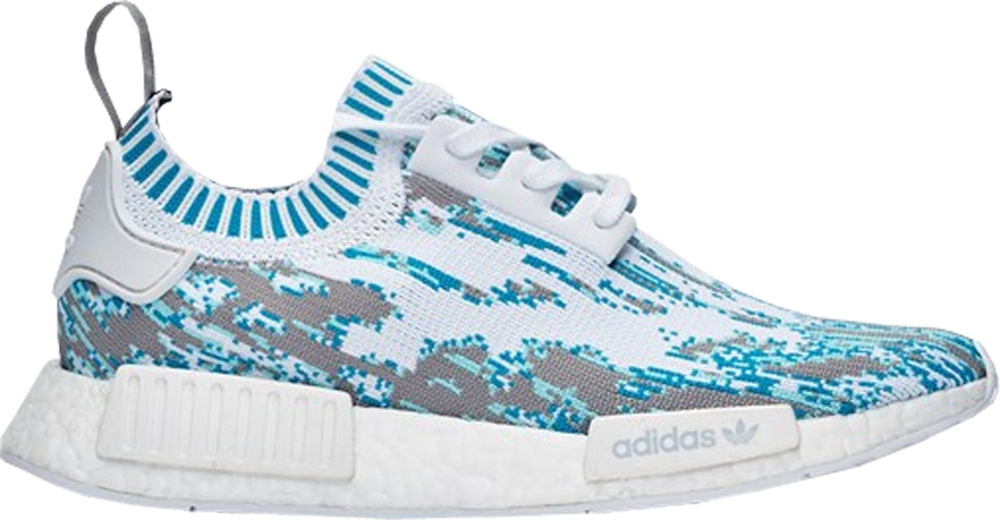 adidas NMD R1 Sneakersnstuff Datamosh Clear Aqua