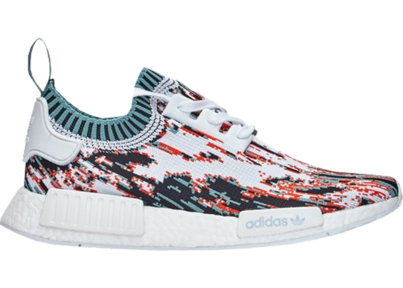 Adidas NMD R1 PK Sneakersnstuff Datamosh Orange