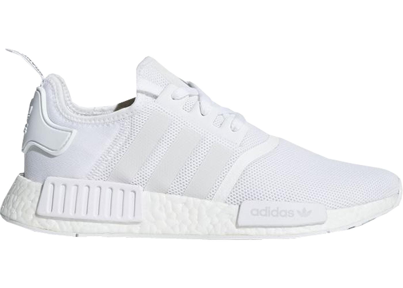 adidas NMD R1 Footwear White Trace Grey - CQ2411 ba871c8cbb03