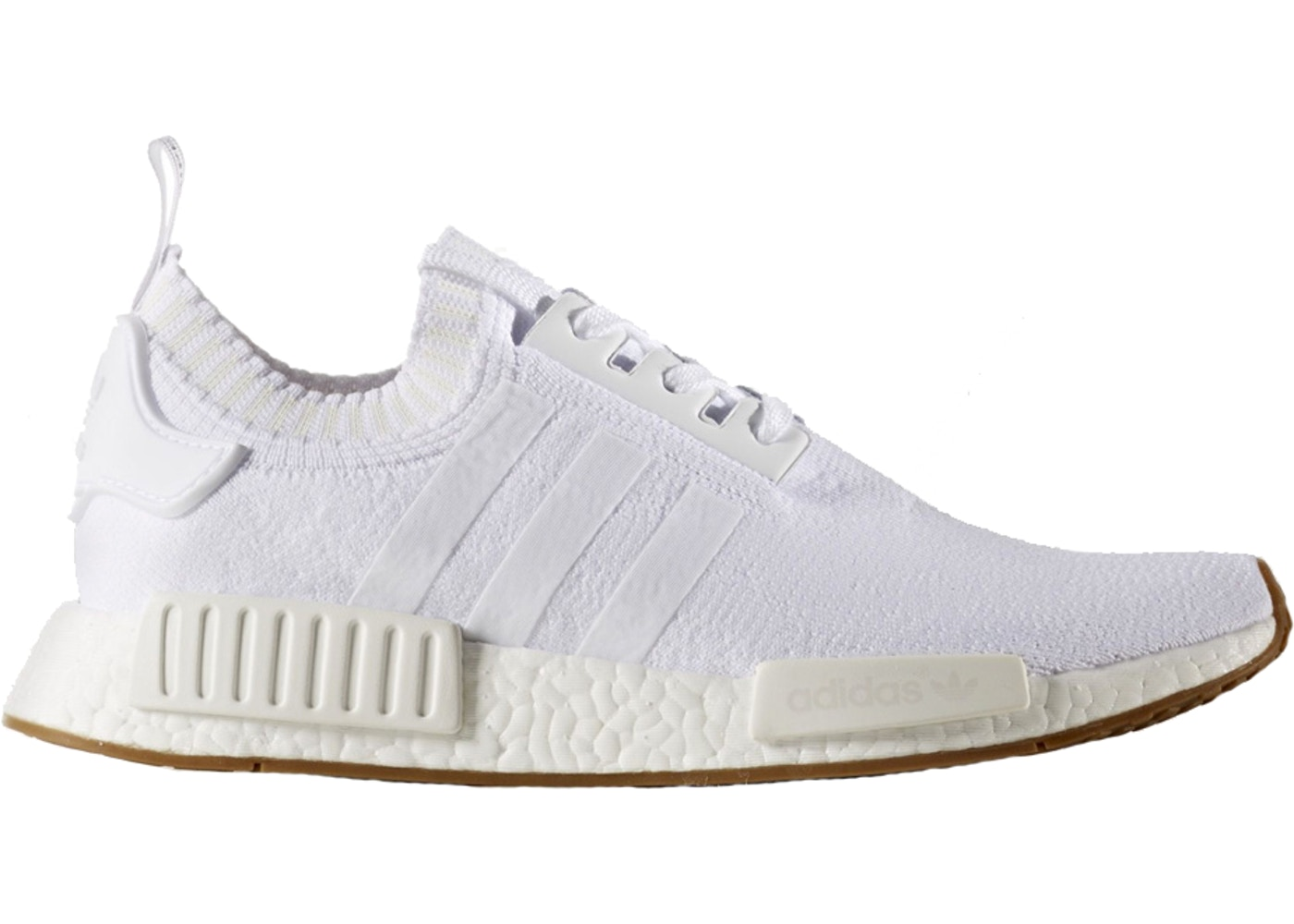 490f7b03085c4 adidas NMD R1 Gum Pack White - BY1888