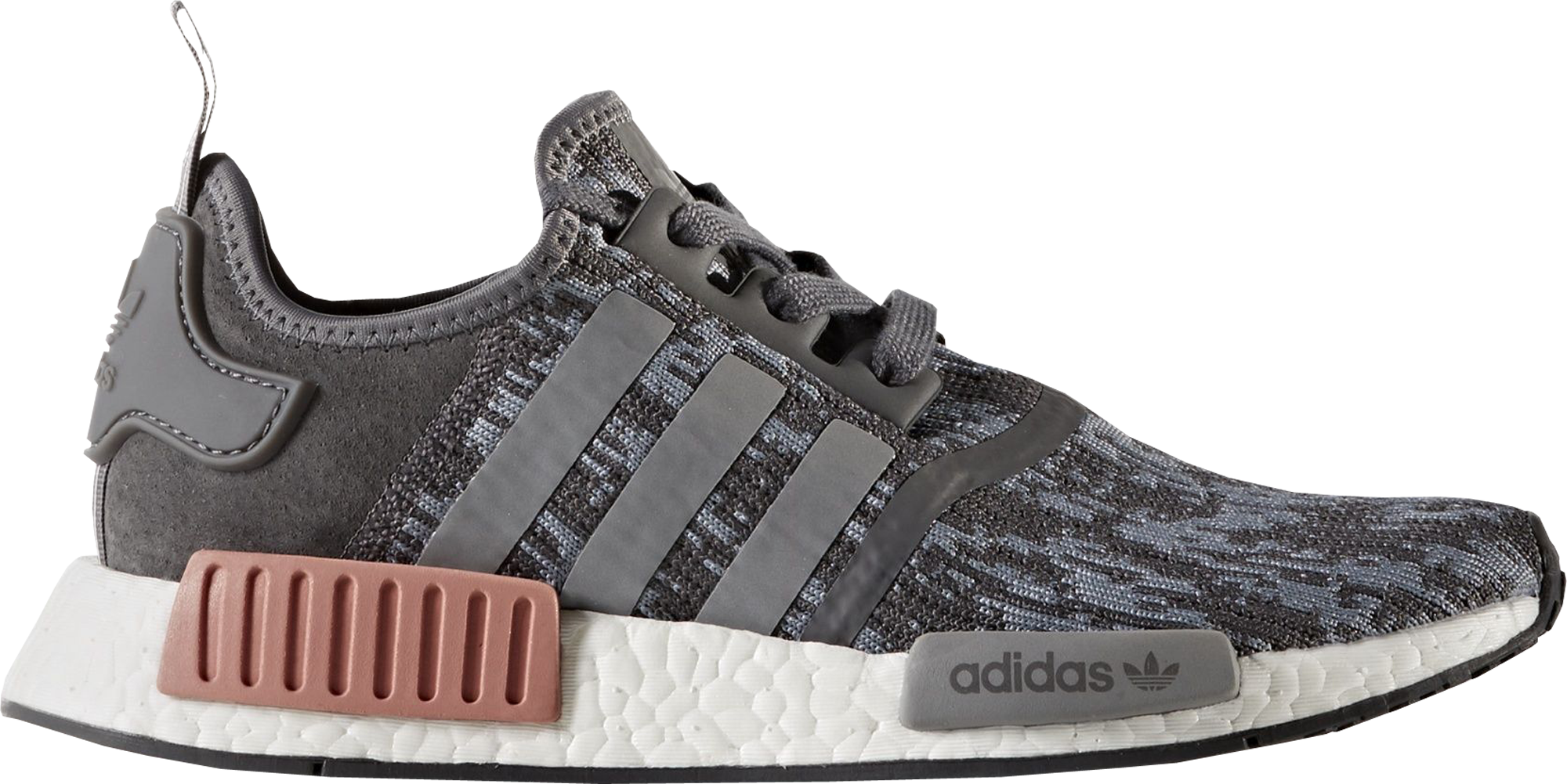 adidas NMD R1 Heather Grey Raw Pink (W)