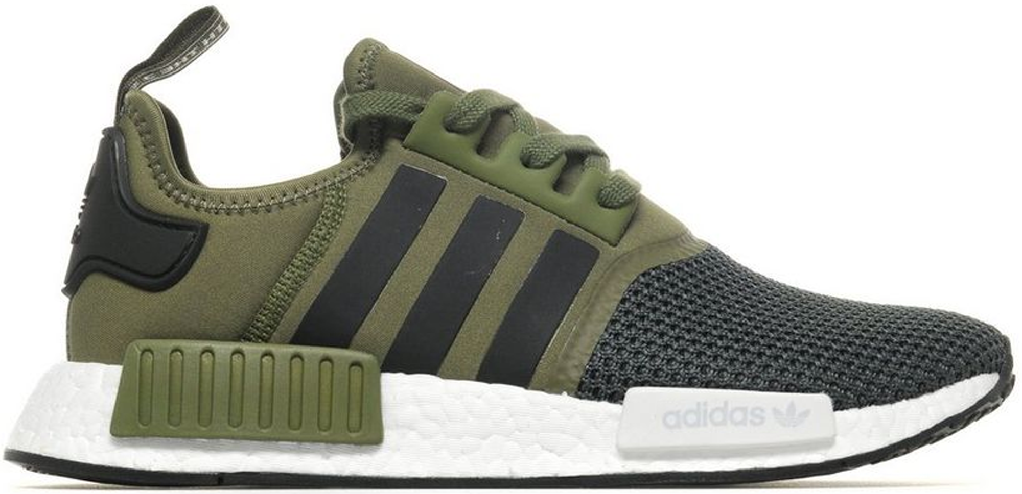 Nmd R1 Jd Sports Trace Olive In Trace Olivecargo Khakicore Black