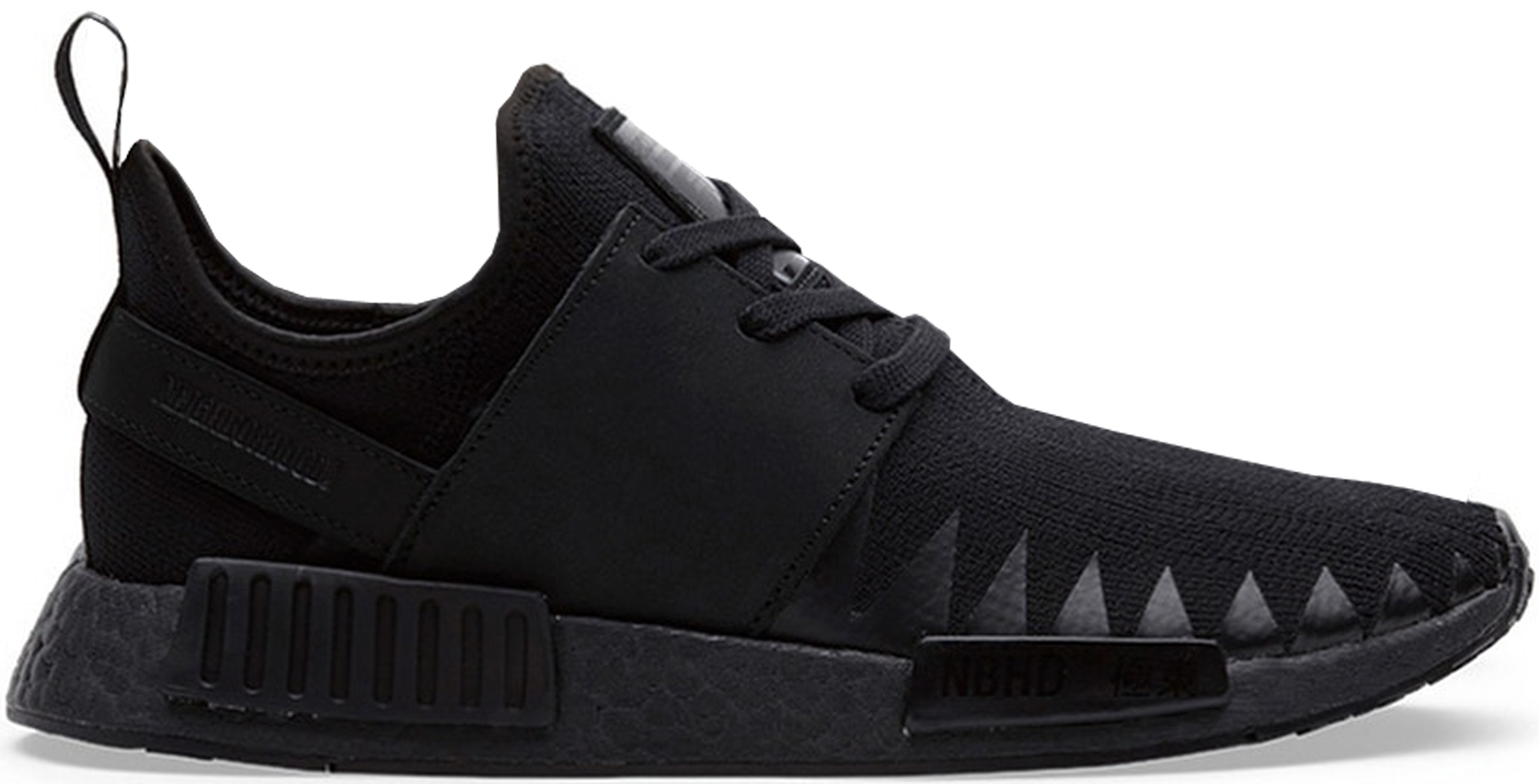 adidas NMD R1 Neighborhood Triple Black