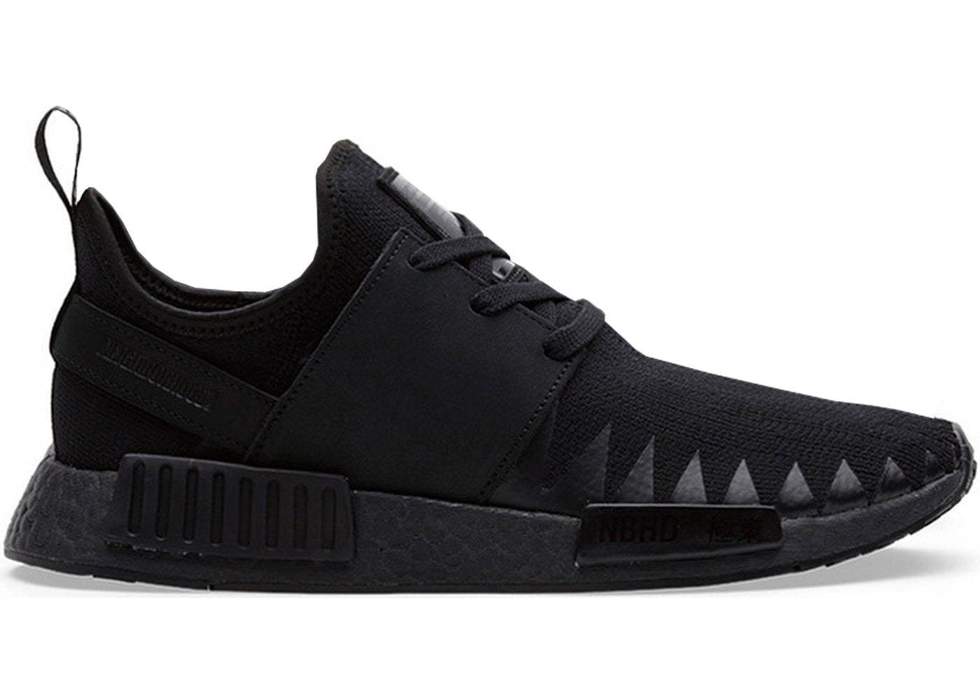 adidas nmd r1 neighborhood triple black. Black Bedroom Furniture Sets. Home Design Ideas