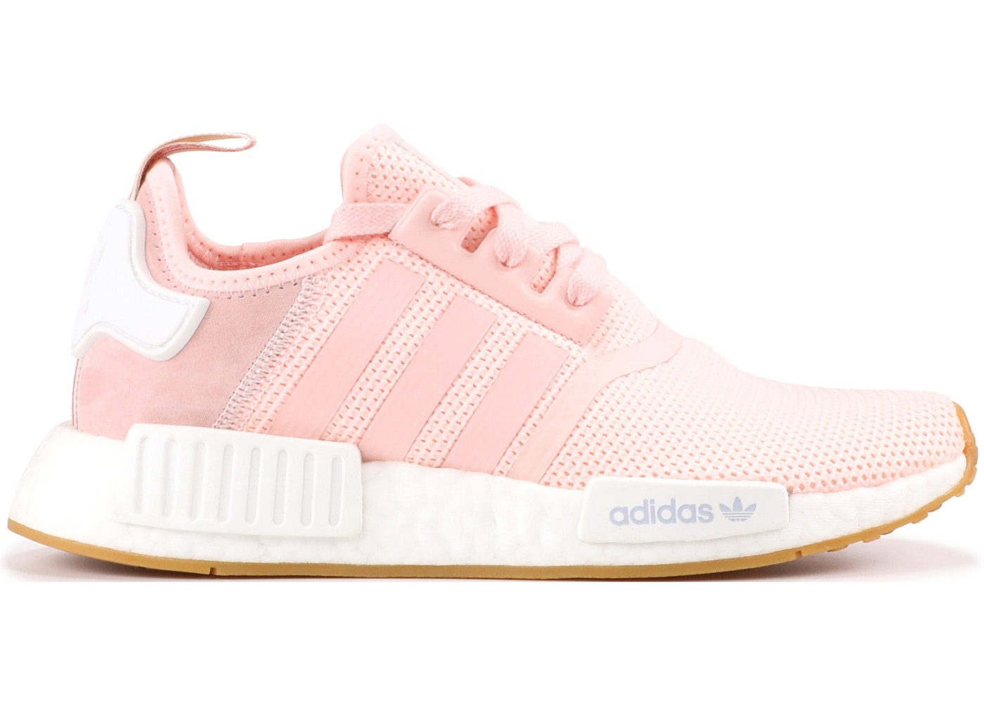 Adidas Nmd R1 Footwear White Pink WomenS Running Trainers