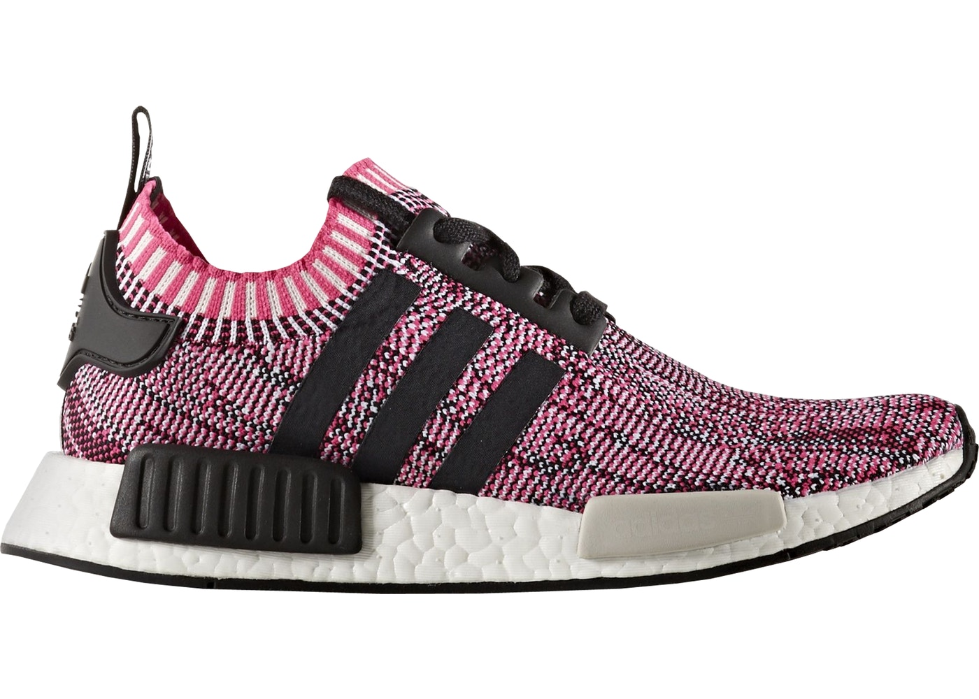 sports shoes 51aab e4f16 adidas NMD R1 Primeknit Pink Rose (W)