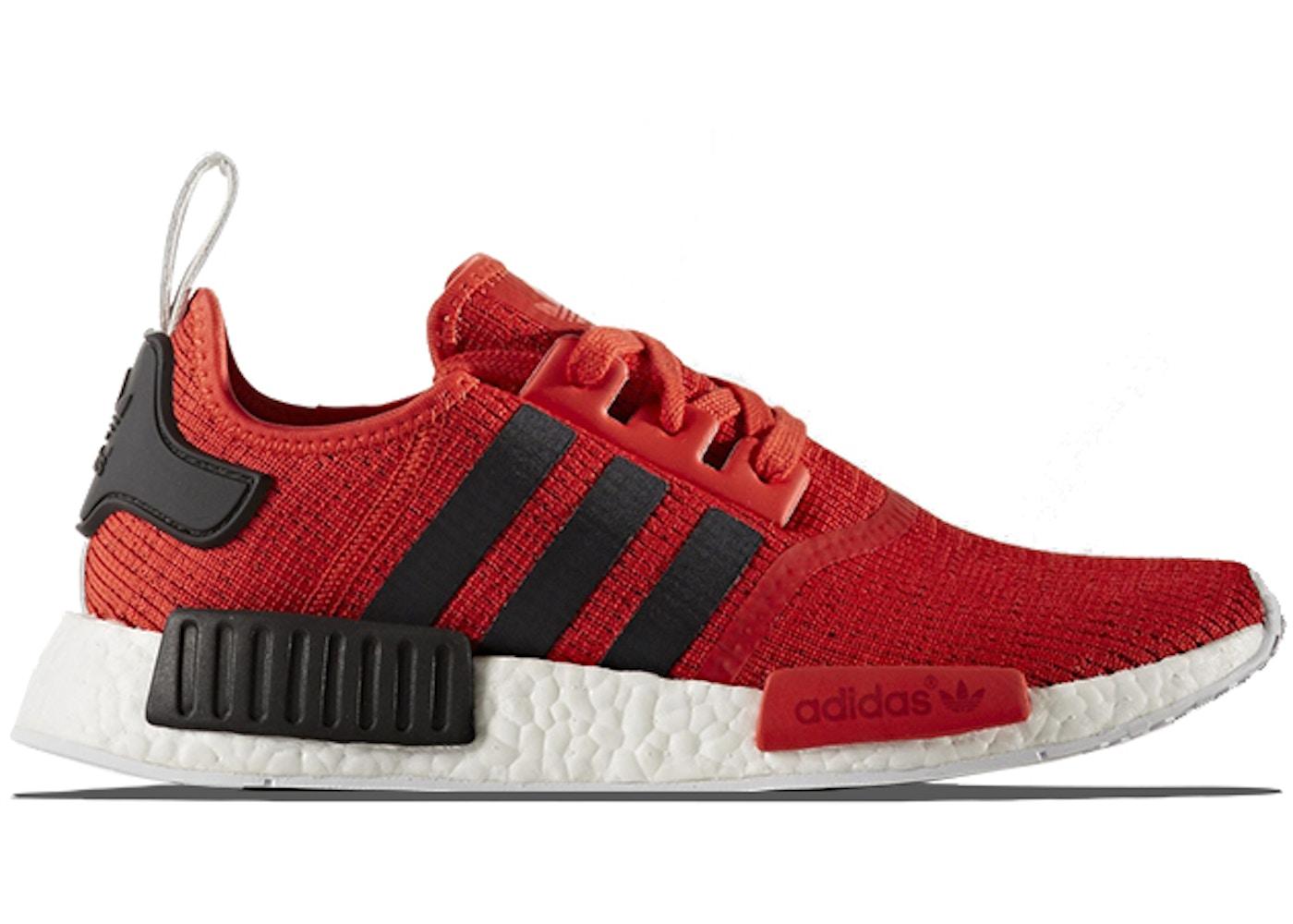 promo code 030c5 e40b2 adidas NMD R1 Red Black