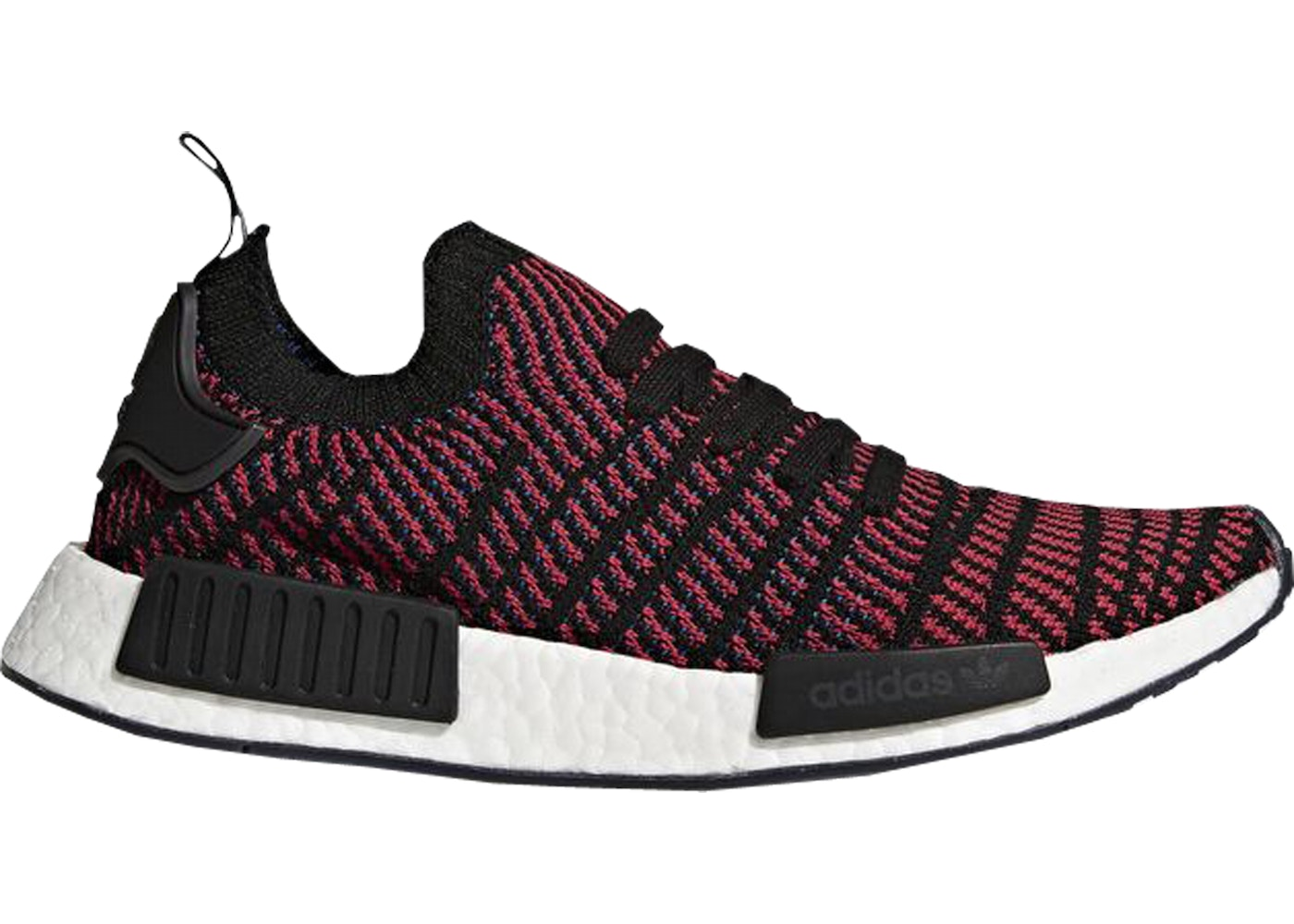 961284c07 adidas NMD R1 STLT Black Red - CQ2385