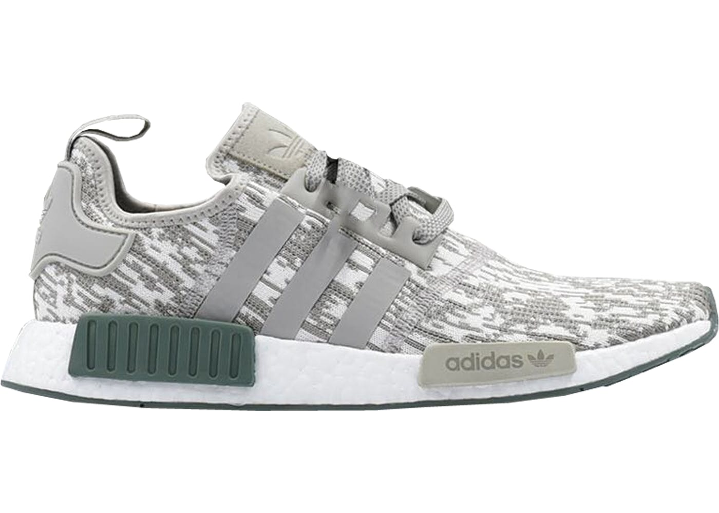 Adidas NMD R1 Three Stripes White Noise Pack Sz 8 S76518 White