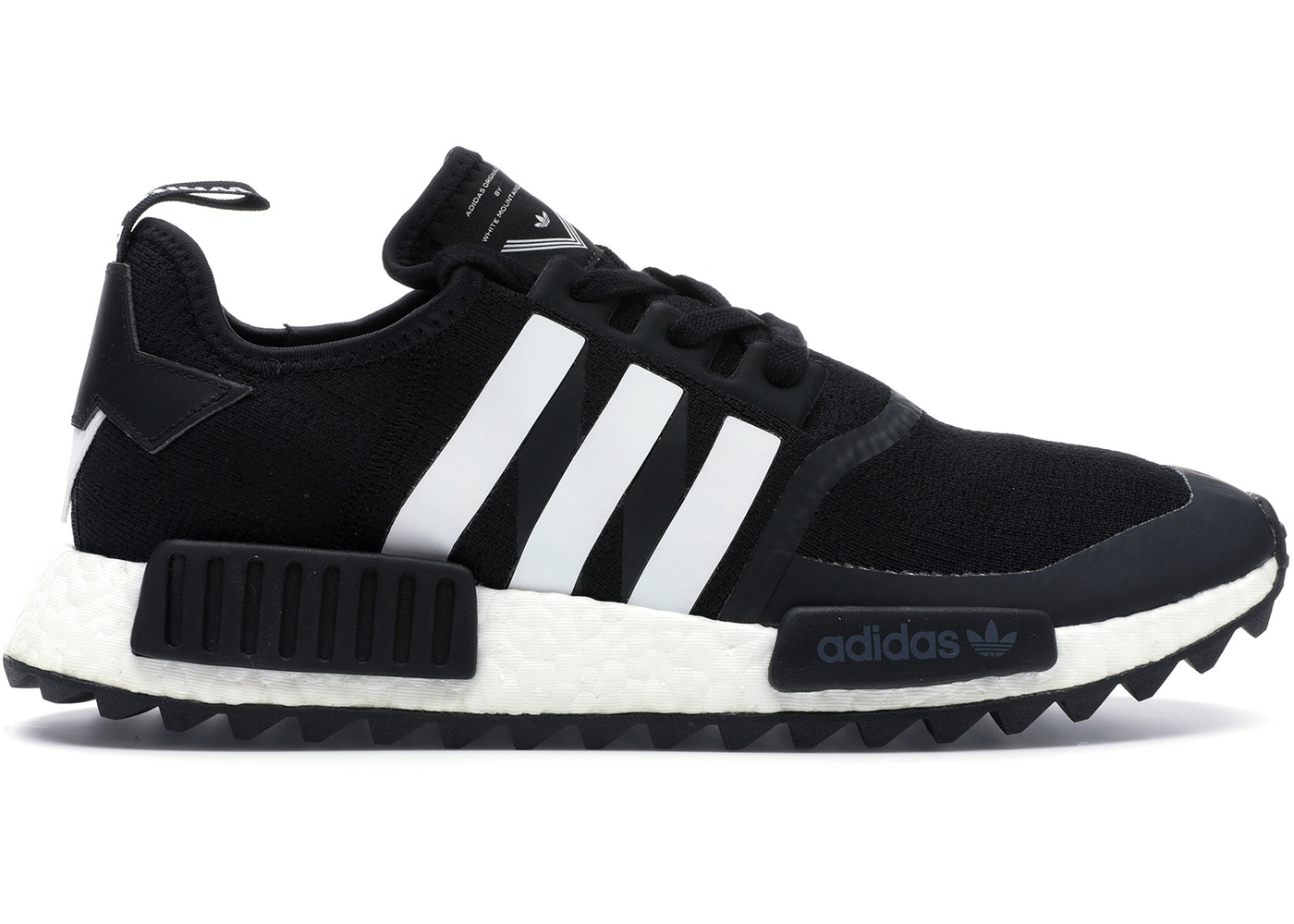 watch 87658 84326 adidas NMD R1 Trail White Mountaineering Core Black