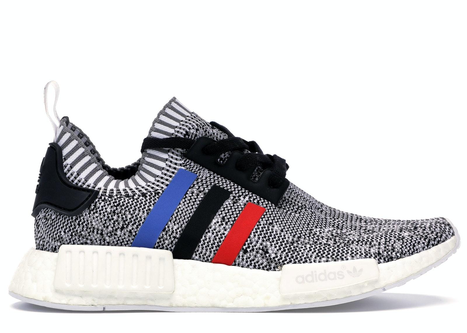 adidas NMD R1 Tri Color Stripes White