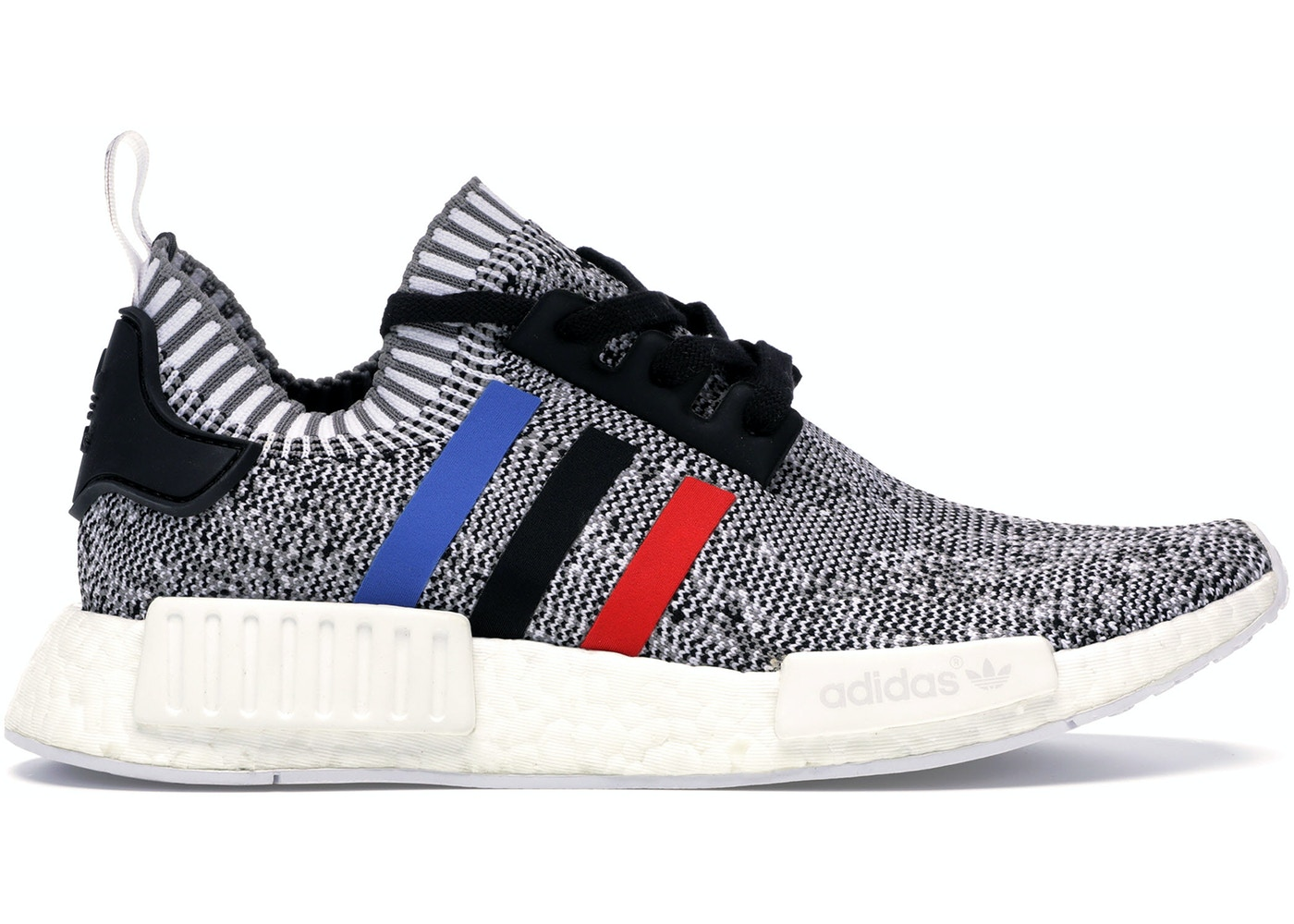 the best attitude 0450c afe73 adidas NMD R1 Tri Color Stripes White