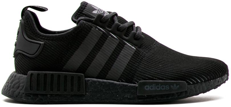 Adidas nmd r1 triple nero riflettente by3123