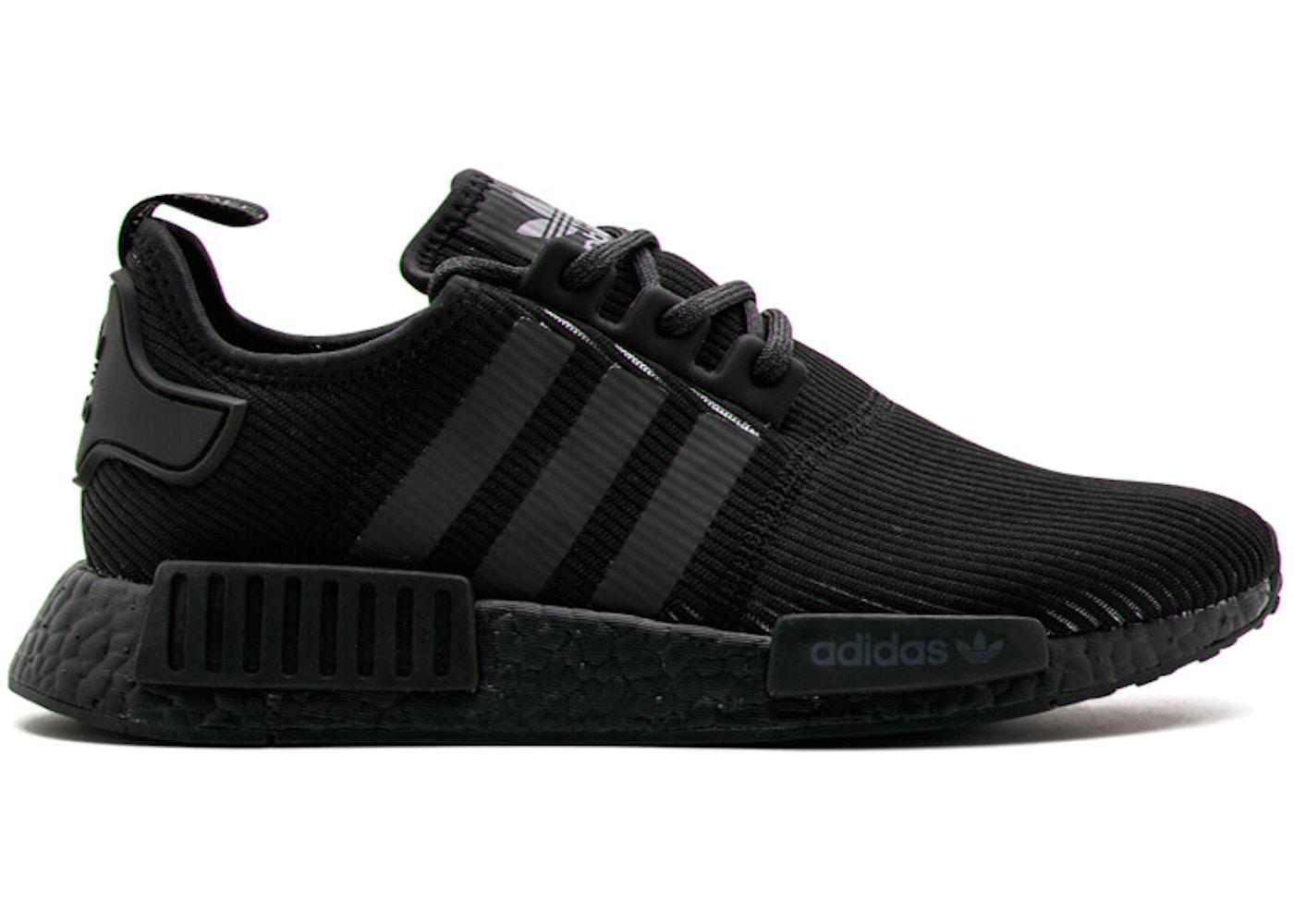 Black Adidas Reflective R1 Triple By3123 Nmd DIWE29YH