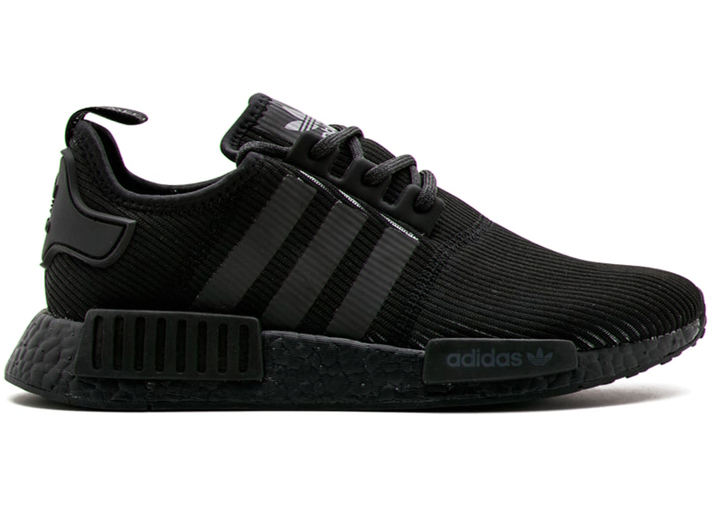 9f4955e36e86 adidas NMD R1 Triple Black Reflective - BY3123