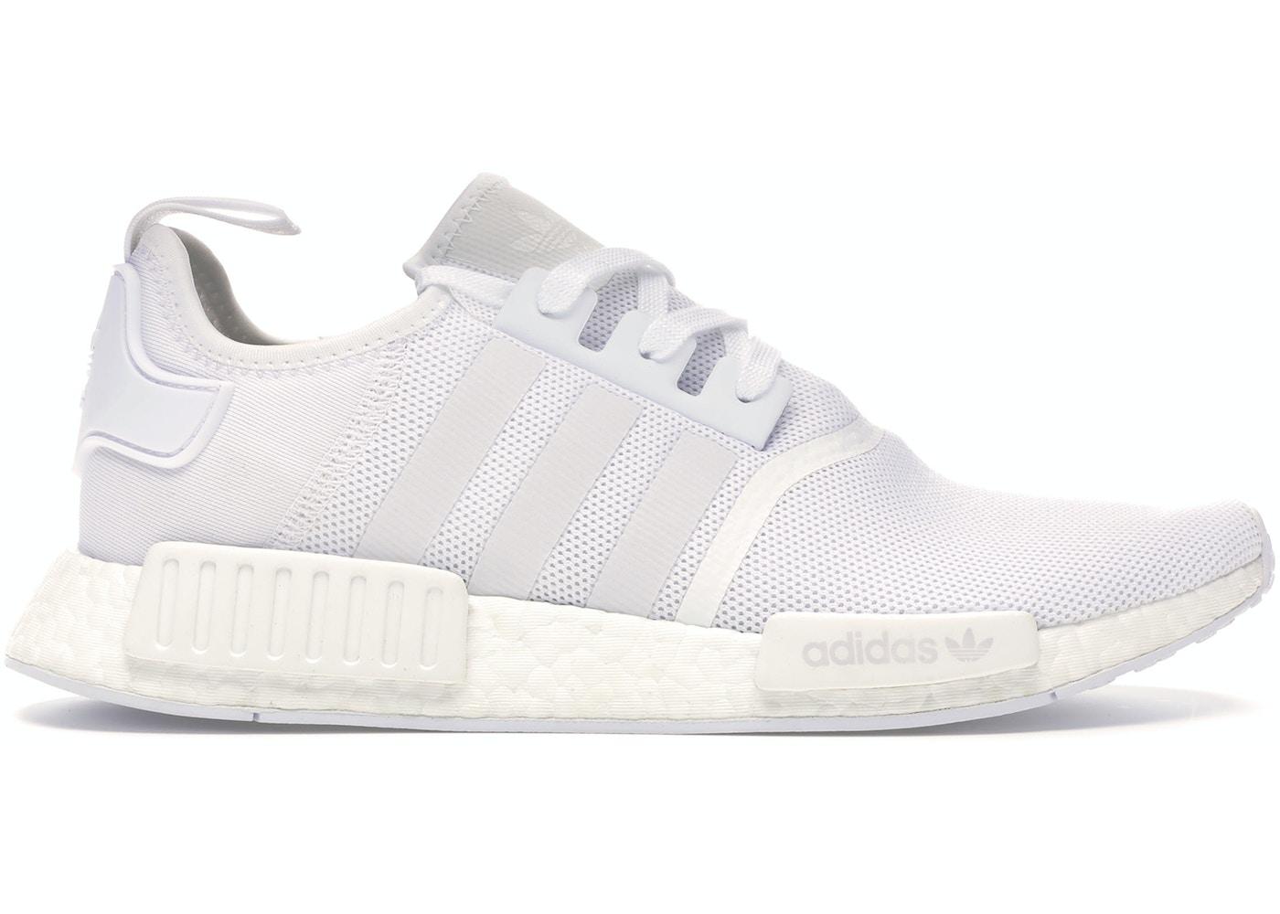 Adidas Nmd R1 Triple White Ba7245