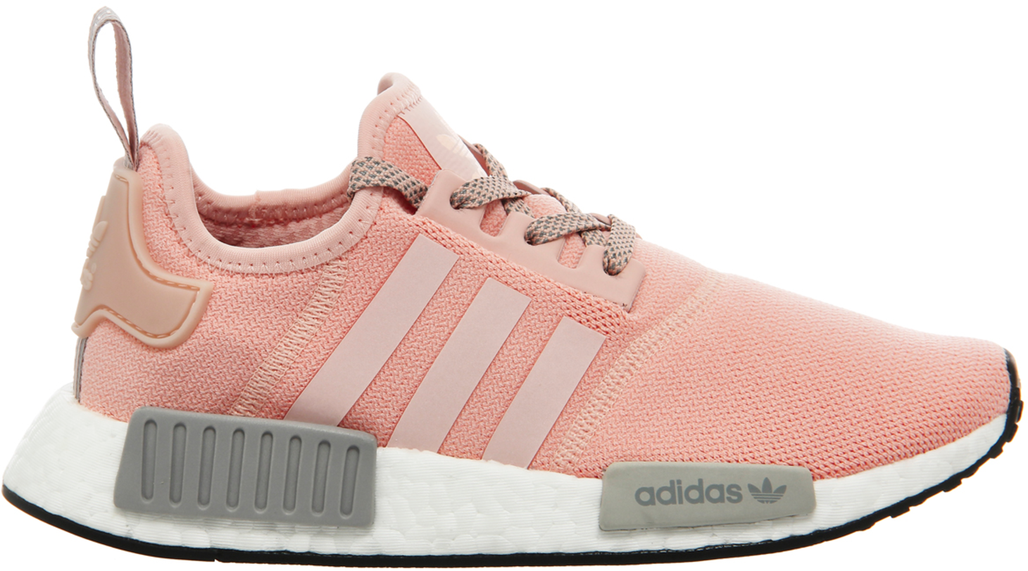 Adidas nmd clear onix vapour grey pink unboxing and first thoughts