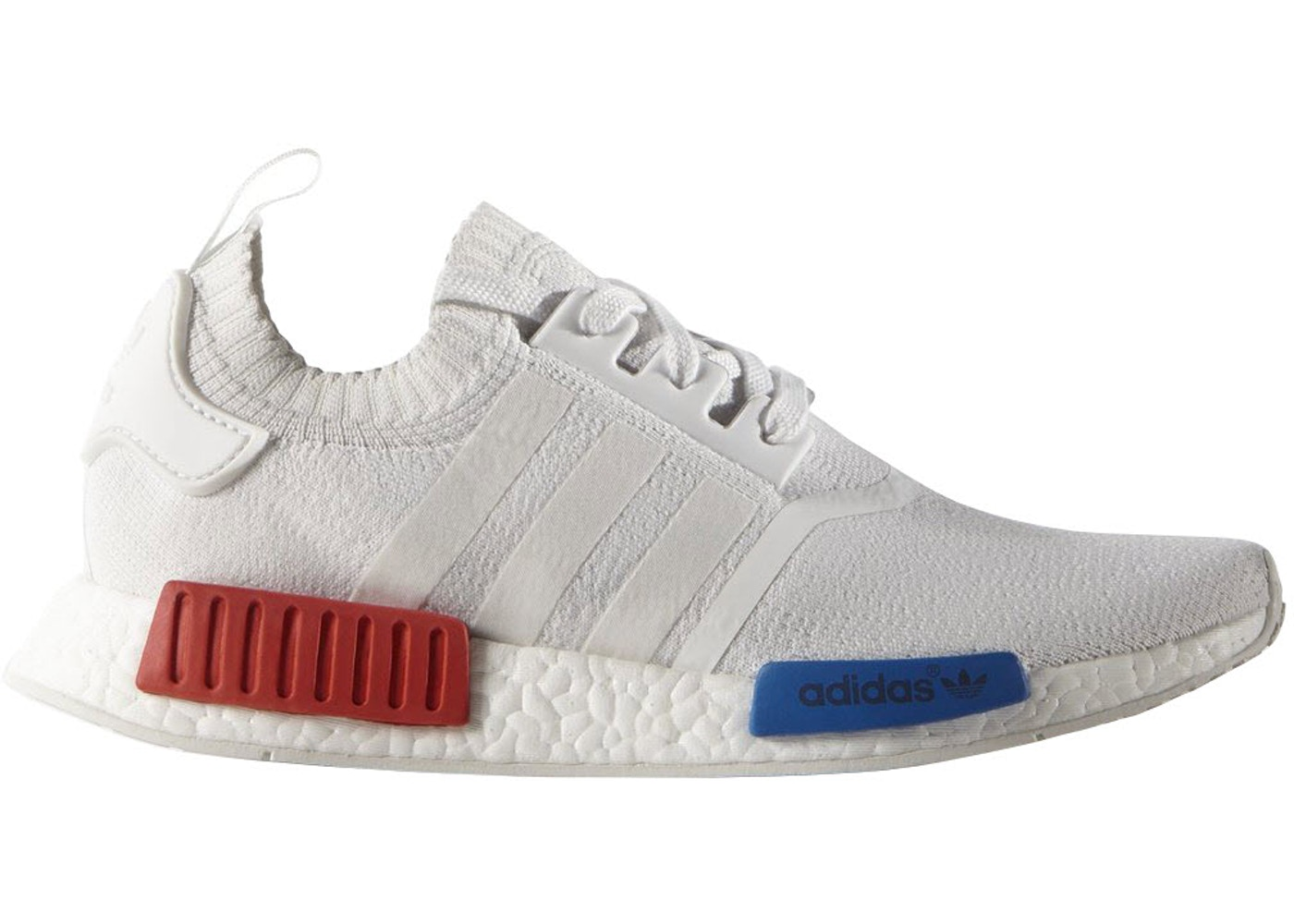 the latest d78de 7247e adidas NMD R1 Vintage White