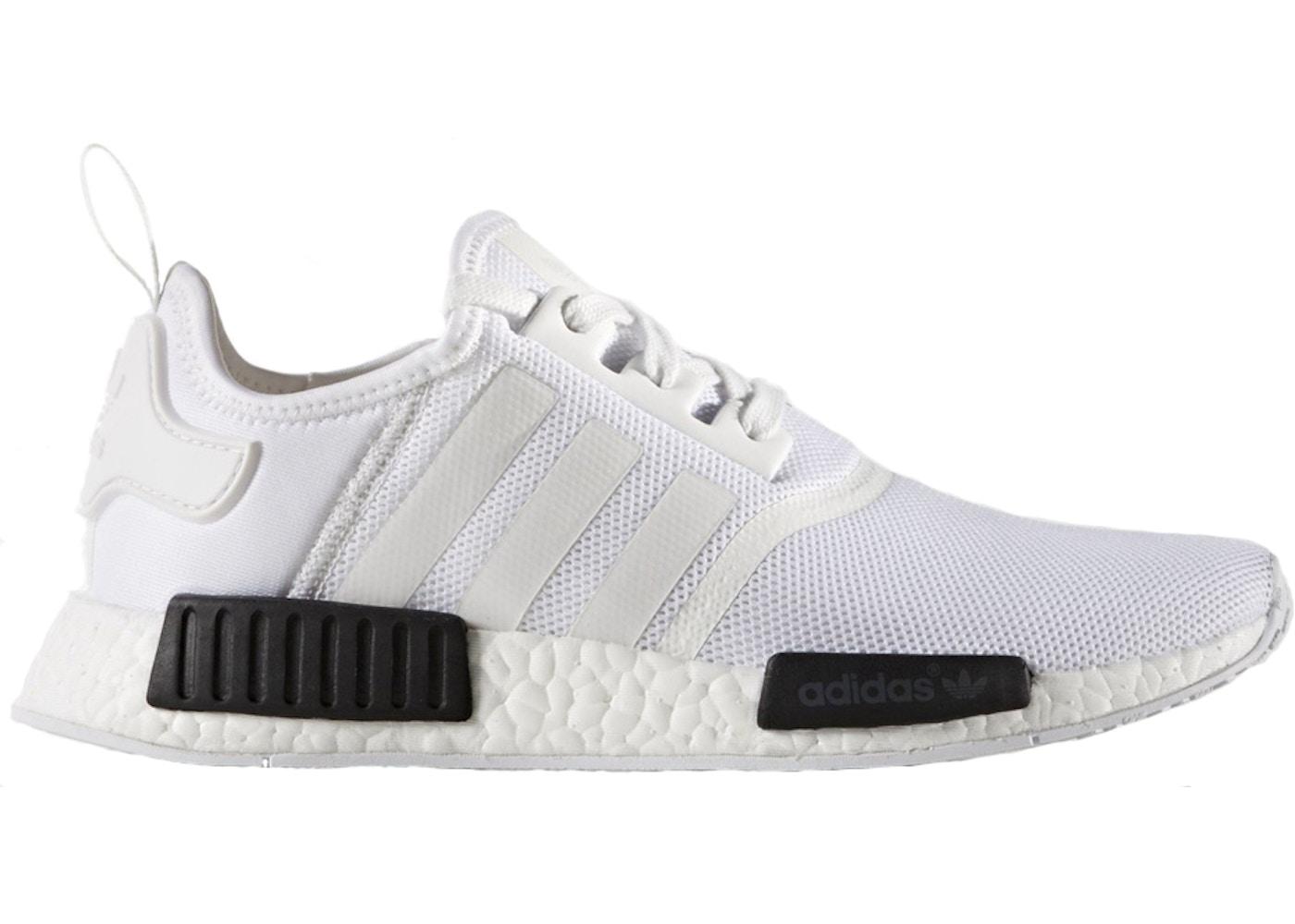 buy popular 83163 393fd adidas NMD R1 White Black