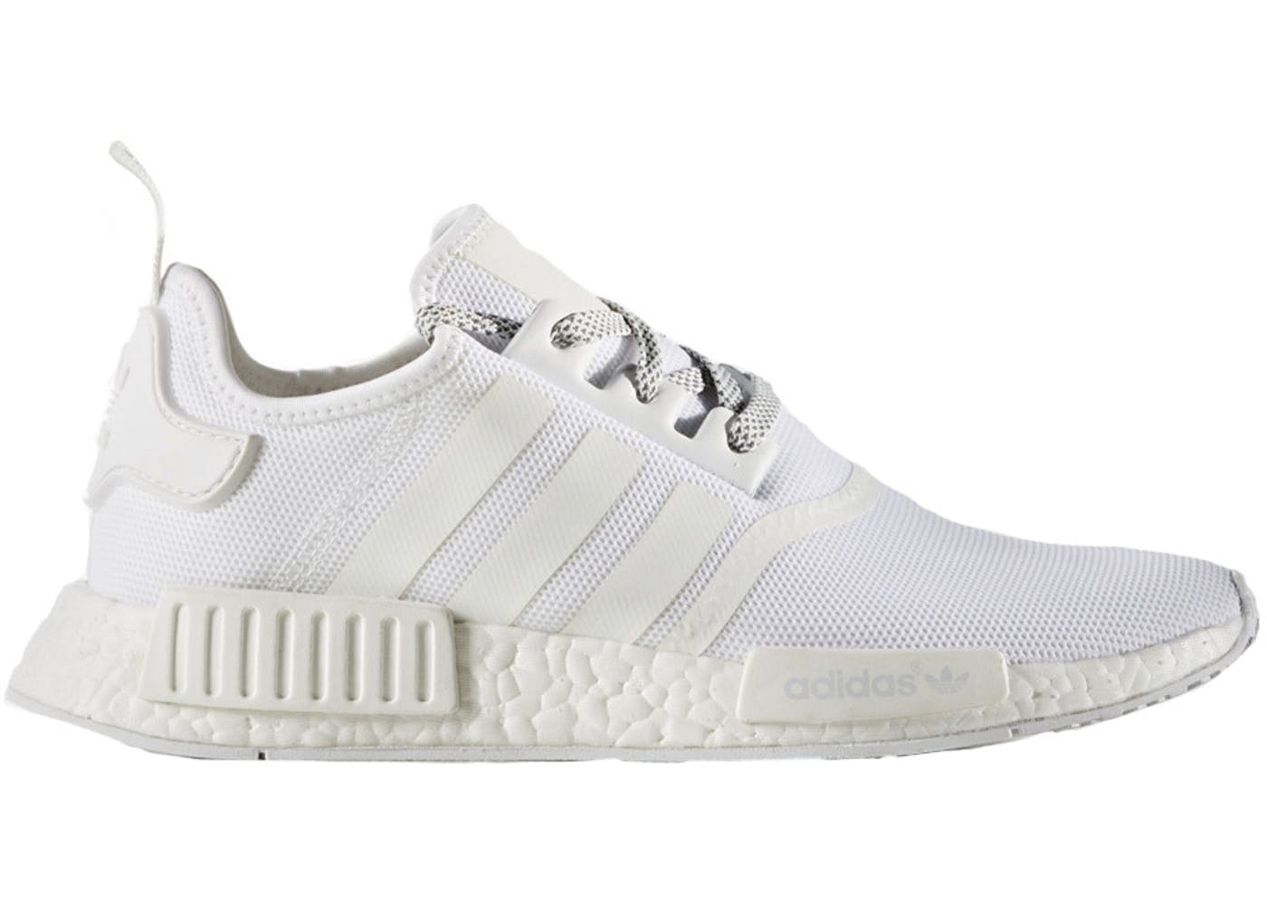 adidas nmd r1 triple white primeknit. Black Bedroom Furniture Sets. Home Design Ideas