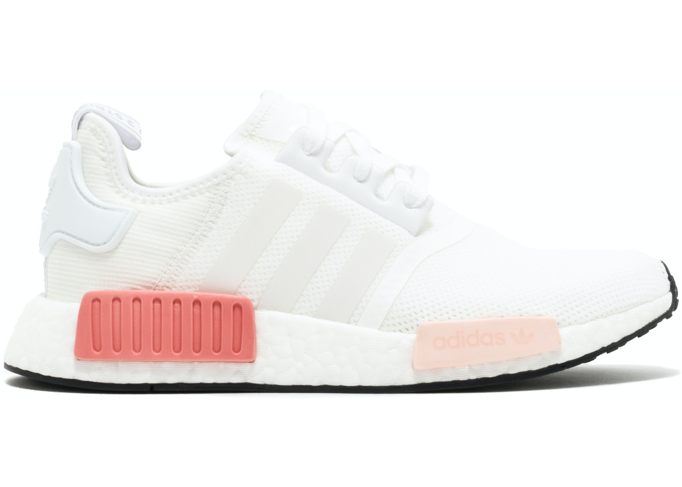 best website 2d573 29a8a adidas NMD R1 White Rose (W)