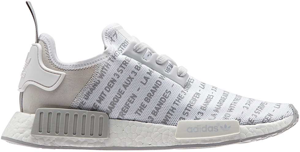 """adidas NMD R1 """"Whiteout"""""""