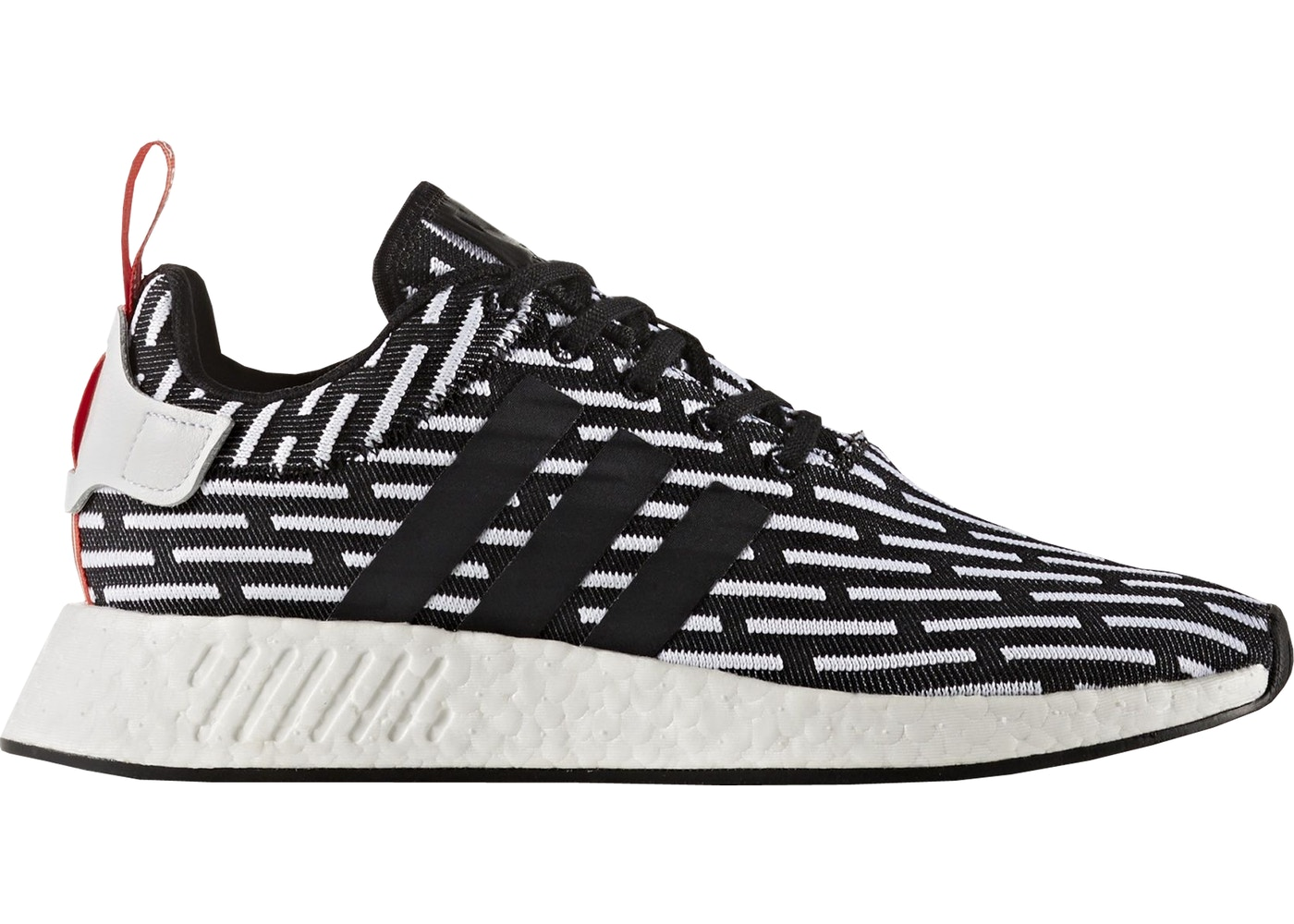 adidas nmd r2 black and white