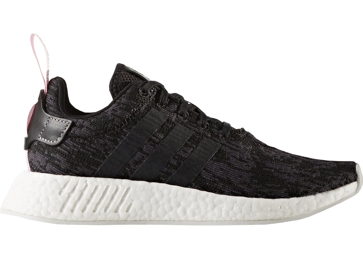 outlet store sale 2018 shoes buy good adidas NMD R2 Black Wonder Pink (W)