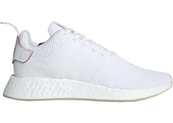 DB2570 Adidas NMD R2 CNY Lifestyle Shoes Footwear WhiteScarlet