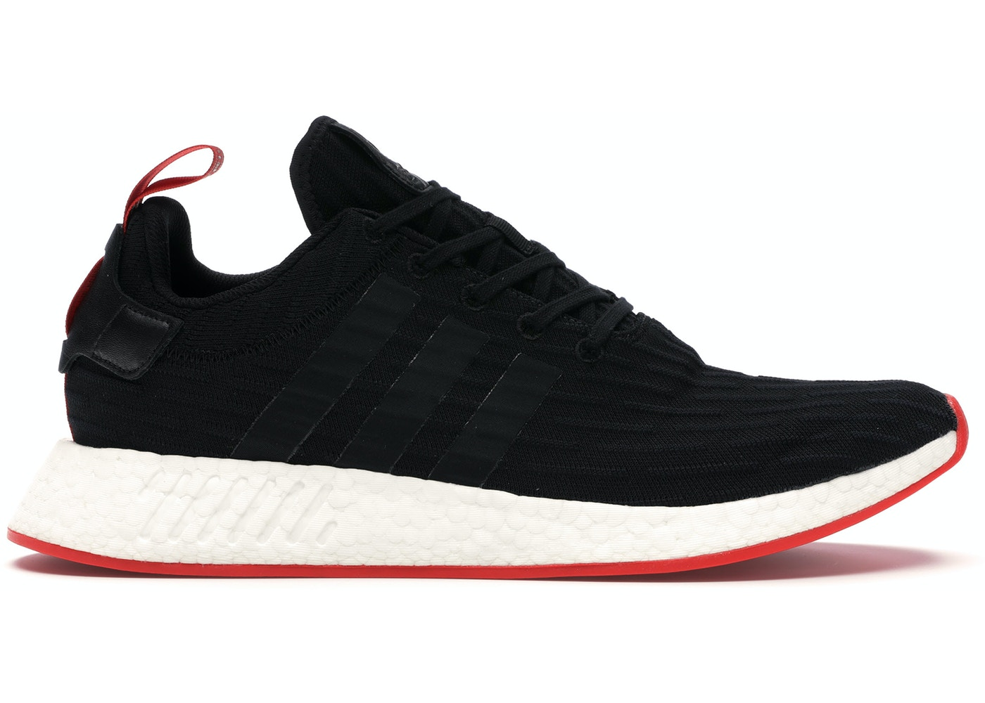 nmd r2 core black red