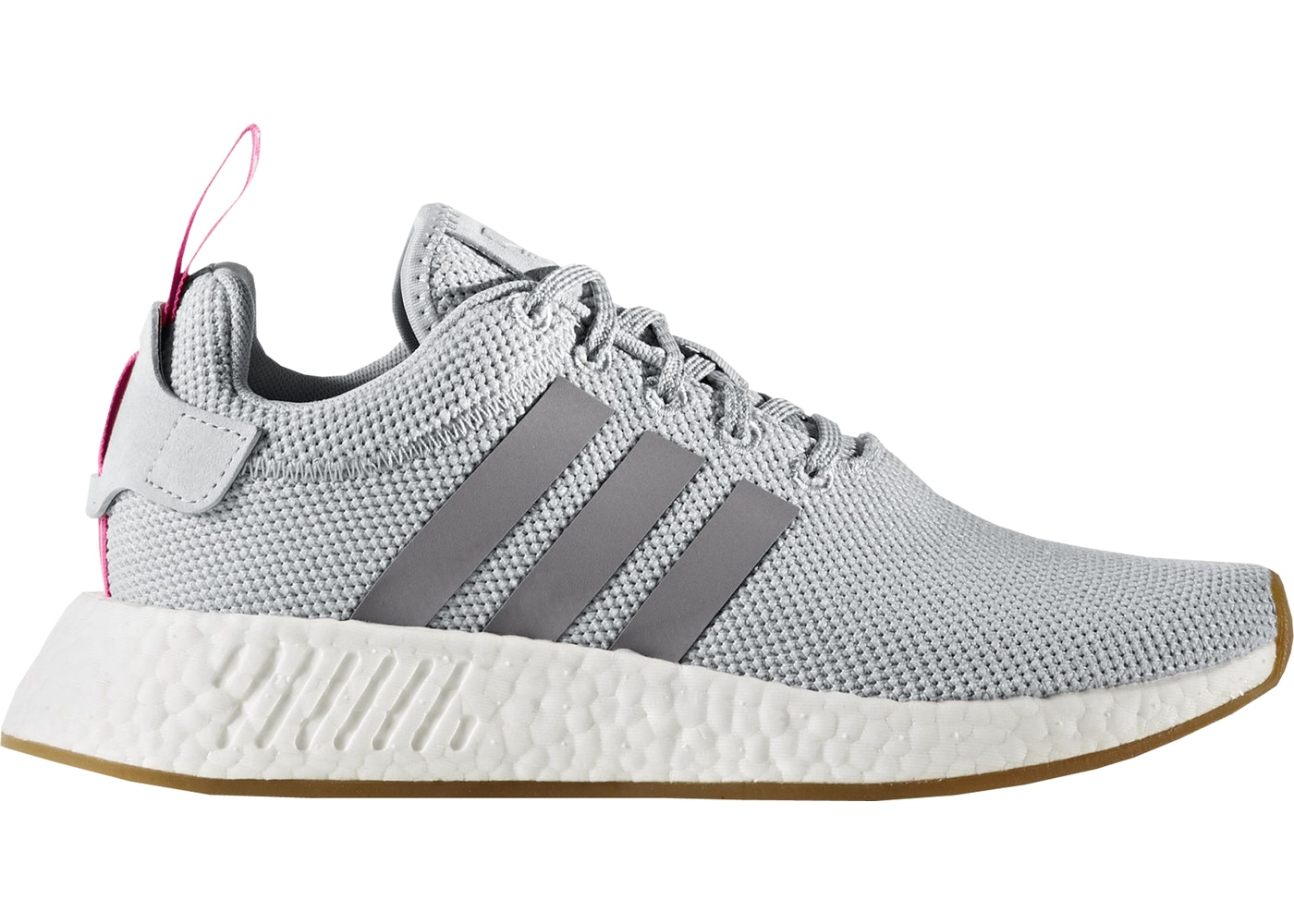 fdac8b3d8133e Sell. or Ask. Size  8W. View All Bids. adidas NMD R2 Grey Shock Pink ...