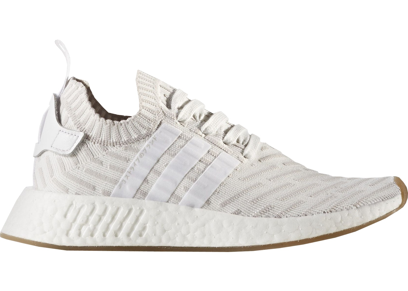 reputable site 7da34 4e780 adidas NMD R2 Running White Shock Pink (W)