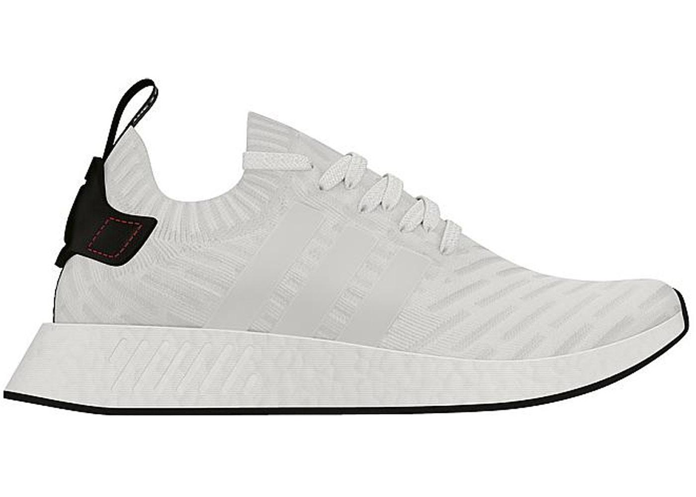 wholesale dealer 17e9e 32cd0 adidas NMD R2 White Black