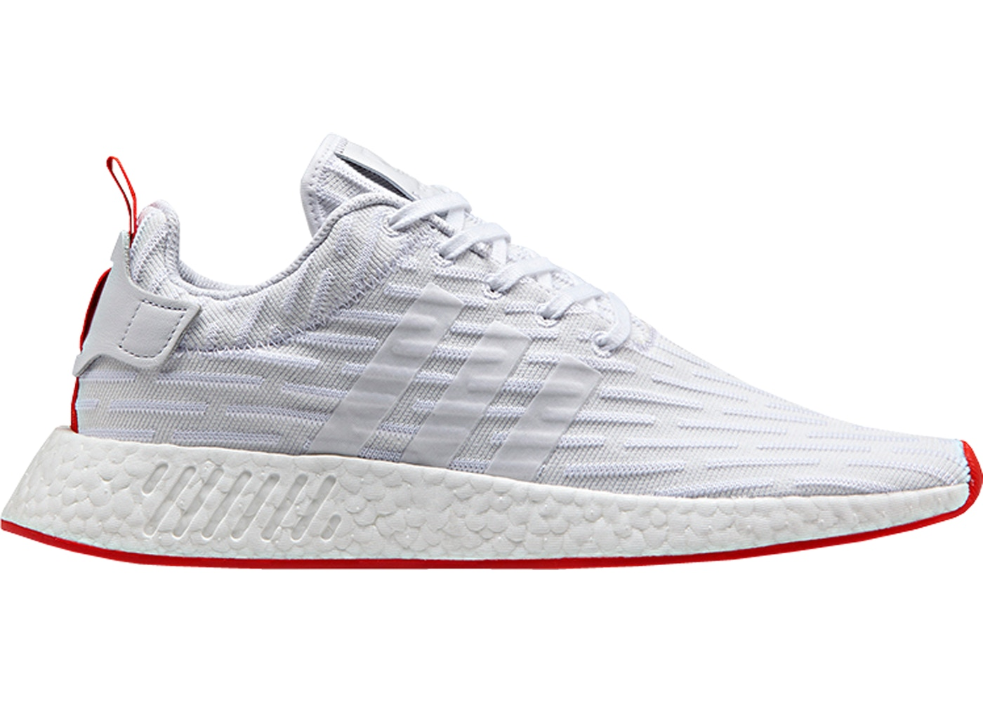 cheaper 91c2c daef1 adidas NMD R2 White Core Red