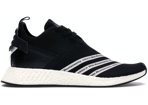 finest selection 47fa8 9e3d2 adidas NMD R2 White Mountaineering Black