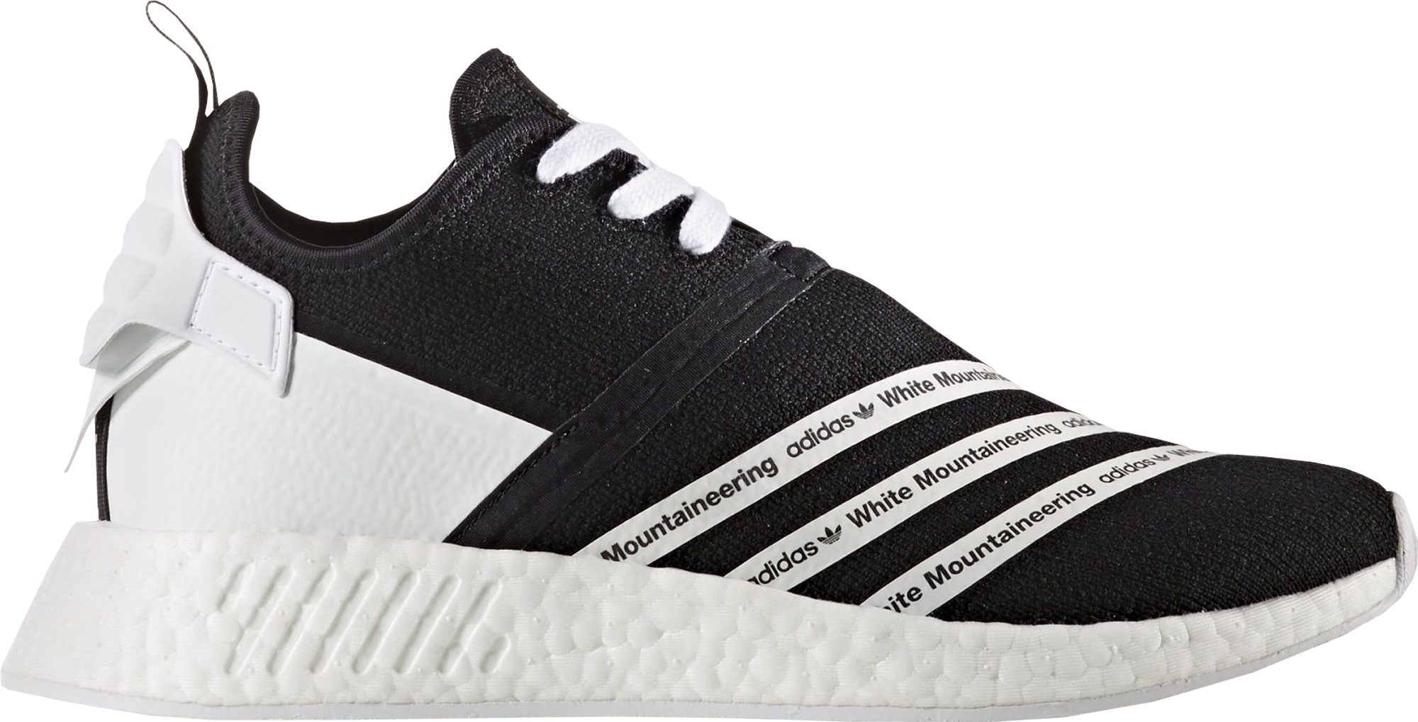 adidas NMD R2 White Mountaineering Black White