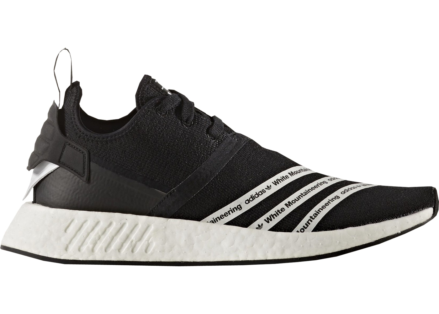 c629ce04e79f5 adidas NMD R2 White Mountaineering Black - BB2978