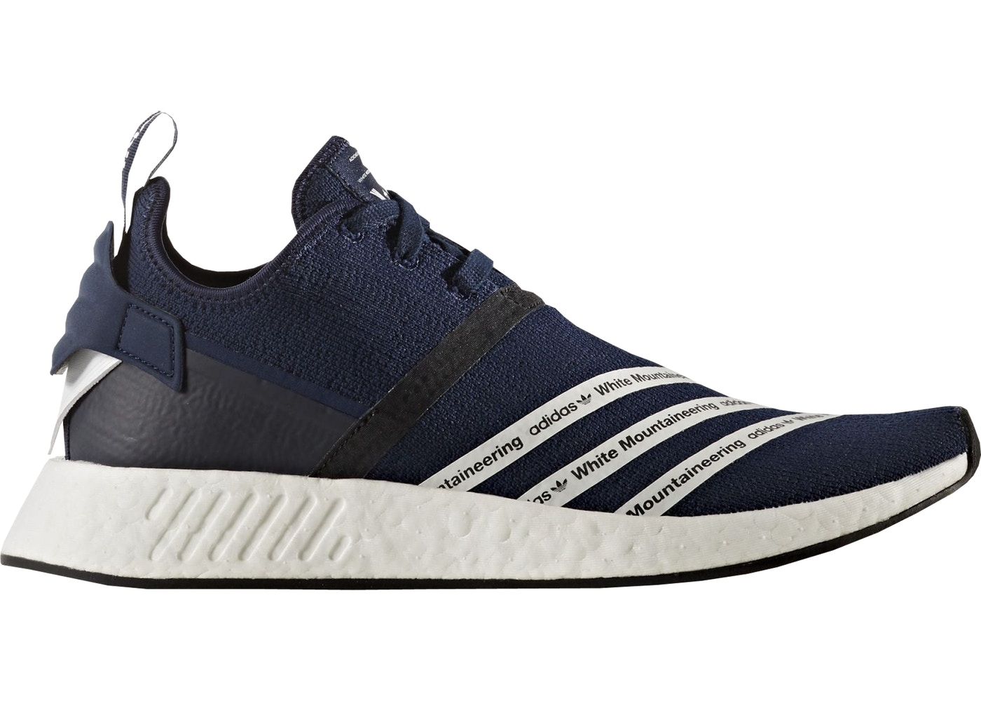 adidas NMD R2 White Mountaineering Navy - BB3072 f638174243ea