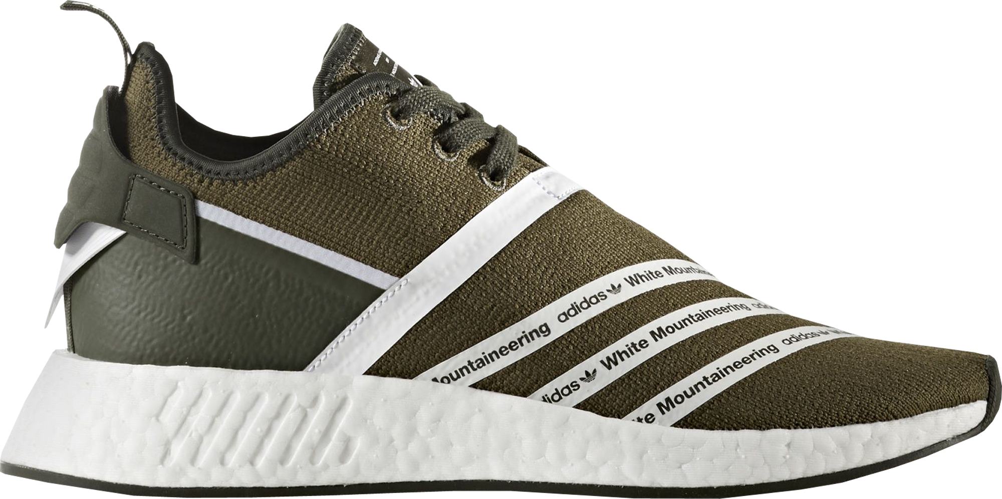 adidas NMD R2 White Mountaineering Trace Olive